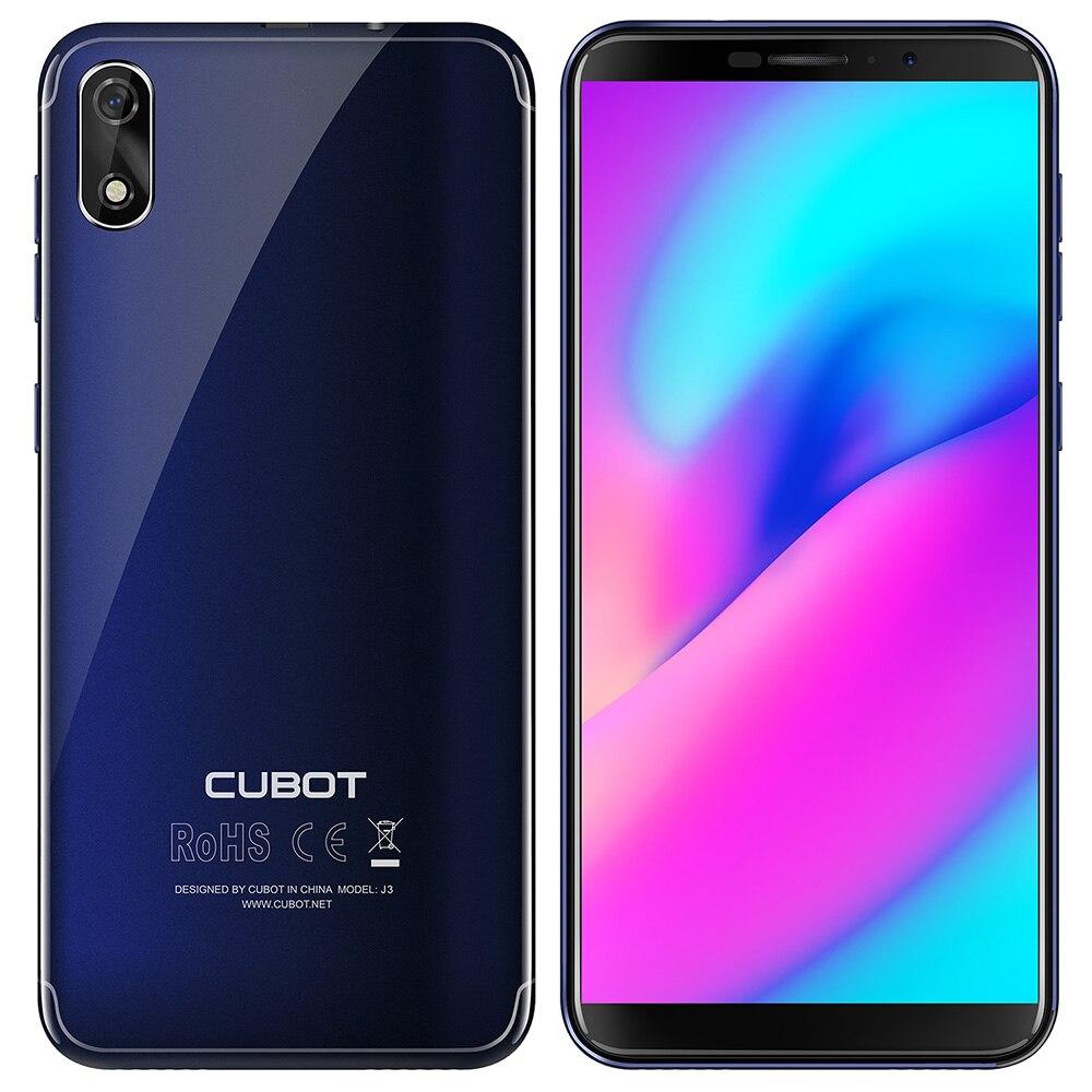 Cubot J3 смартфон 3g 5,0 Android GO mt6580 четыре ядра мобильный телефон 1. 3g Гц 1 ГБ Оперативная память 16 ГБ Встроенная память 8.0MP сзади Камера 2000 мАч телеф...