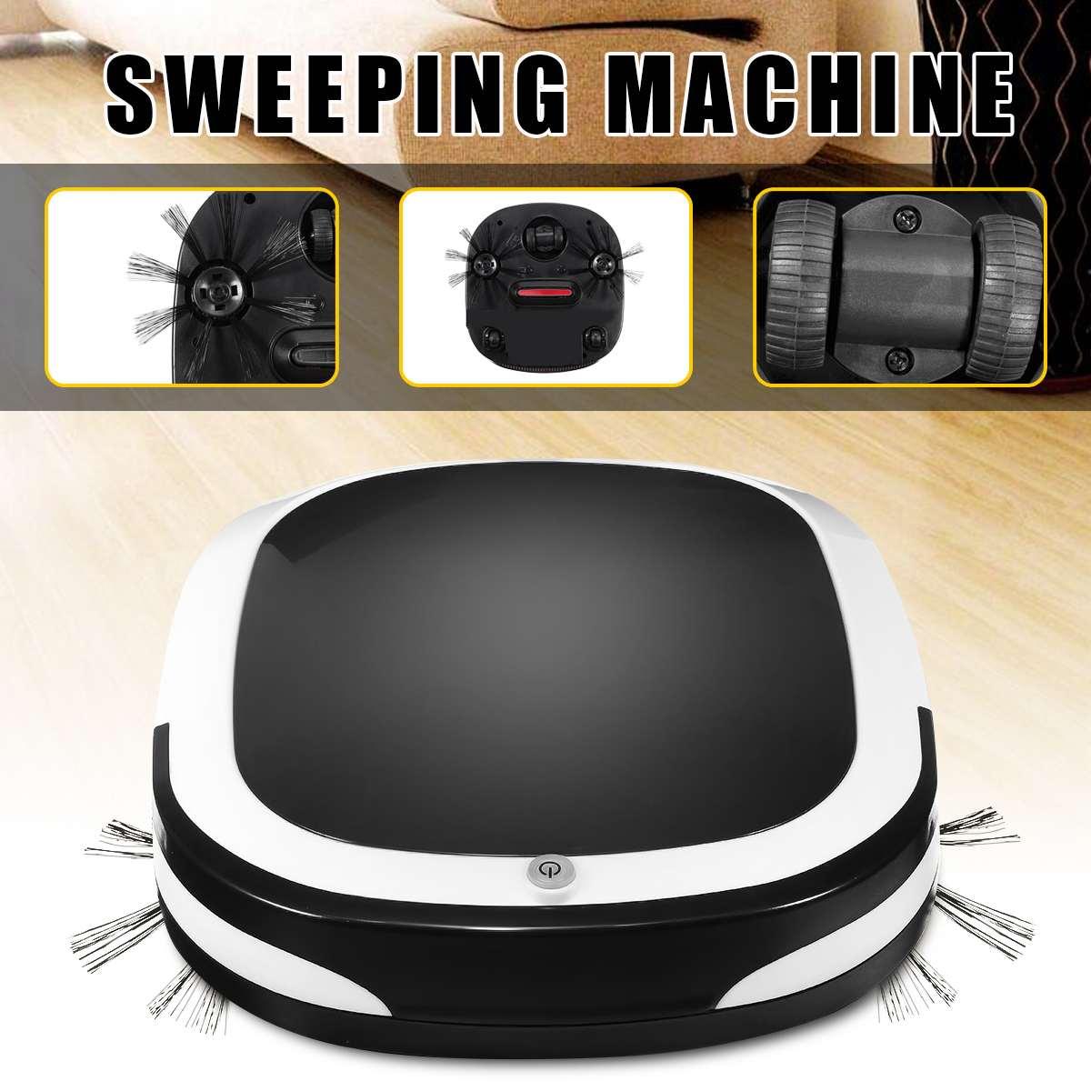Robot Aspirateur 2 pour La Maison Automatique Balayer La Poussière Stériliser Smart Prévues À Laver Essuyant Aspirateurs