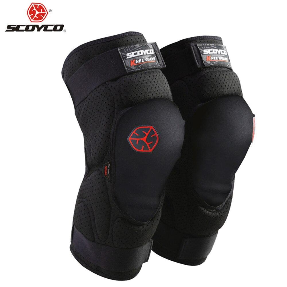 SCOYCO K16 Motocross genouillères protecteur Moto garde Protection genouillères vtt Skis Moto Pad équipement Mx genouillères