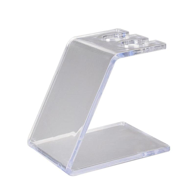 Image 5 - Acrylic Tattoo Machine Holder Stand Transparent Tattoo Supply Stand Rack Tattoo Supply Stand Rack Rest Organizer-in Tattoo accesories from Beauty & Health