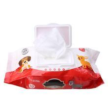 Уход за домашними животными протирать влажные ткани пятновыводитель Чистка бумажные полотенца для собак кошачий глаз влажные салфетки слеза пятновыводитель нежный