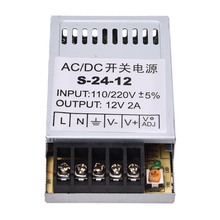 24W Driver Power supply Transformer DC 12V 2A by Band LED Light Lamp
