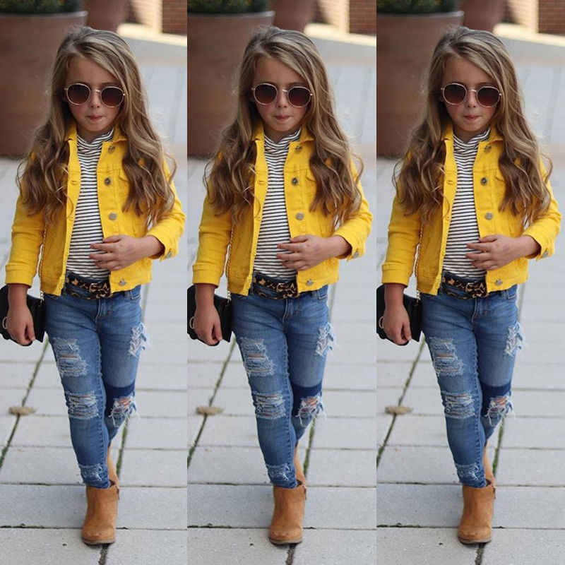 9a4dafa35 Detail Feedback Questions about 2019 Newly Toddler Girl Clothes Jacket Big Kids  Child Baby Boy Girl Clothing Denim Jacket Coat Snowsuit Top Outerwear ...