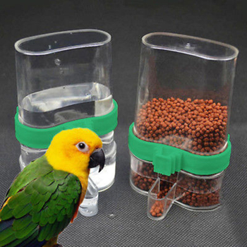 NEW Pet Bird Automatic Cage Seed Water Food Feeder Parrot Cockatiel Canary Bird Water Feeder sarah canary