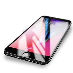 Image 2 - 9D Full coverage ป้องกันกระจกสำหรับ iPhone 6 6S 7 8 PLUS X XR XS MAX บน iPhone 7 8 6 X XR XS MAX Temper