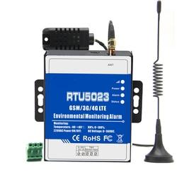 RTU5023 GSM température humidité | Alarme de l'environnement, Situation d'alimentation, SMS, surveillance à distance, DC, minuterie, commande de l'application
