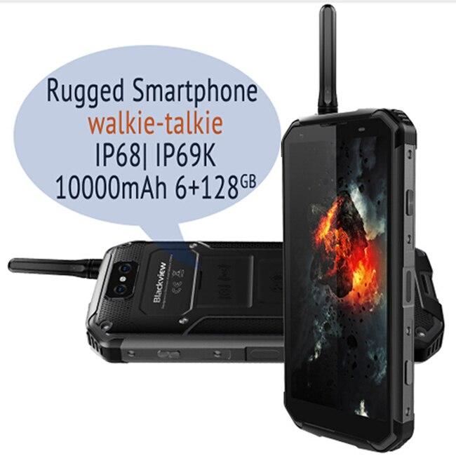 Купить Blackview Bv9500 Pro водостойкая рация двусторонний смартфон 6 ГБ оперативная память 128 Встроенная Octa Core 5,7