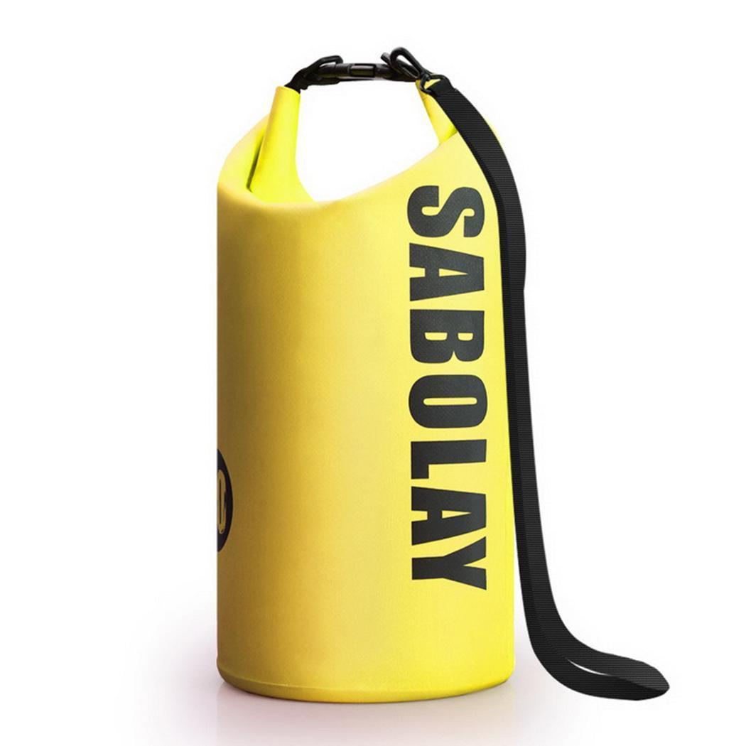 Forceful Outdoor Waterproof Beach Bag Snorkeling Swimming Drifting 10l 0.35kg Backpack Yellow Black Green Blue