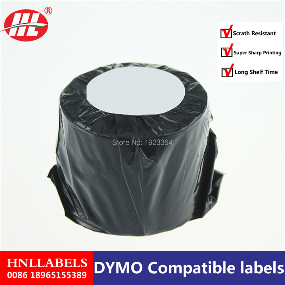20X Rolls Dymo Compatible Labels 99015 9015 70 X 54mm 320 Labels Per Roll Mail Name Badge Labels Freight Printing Label