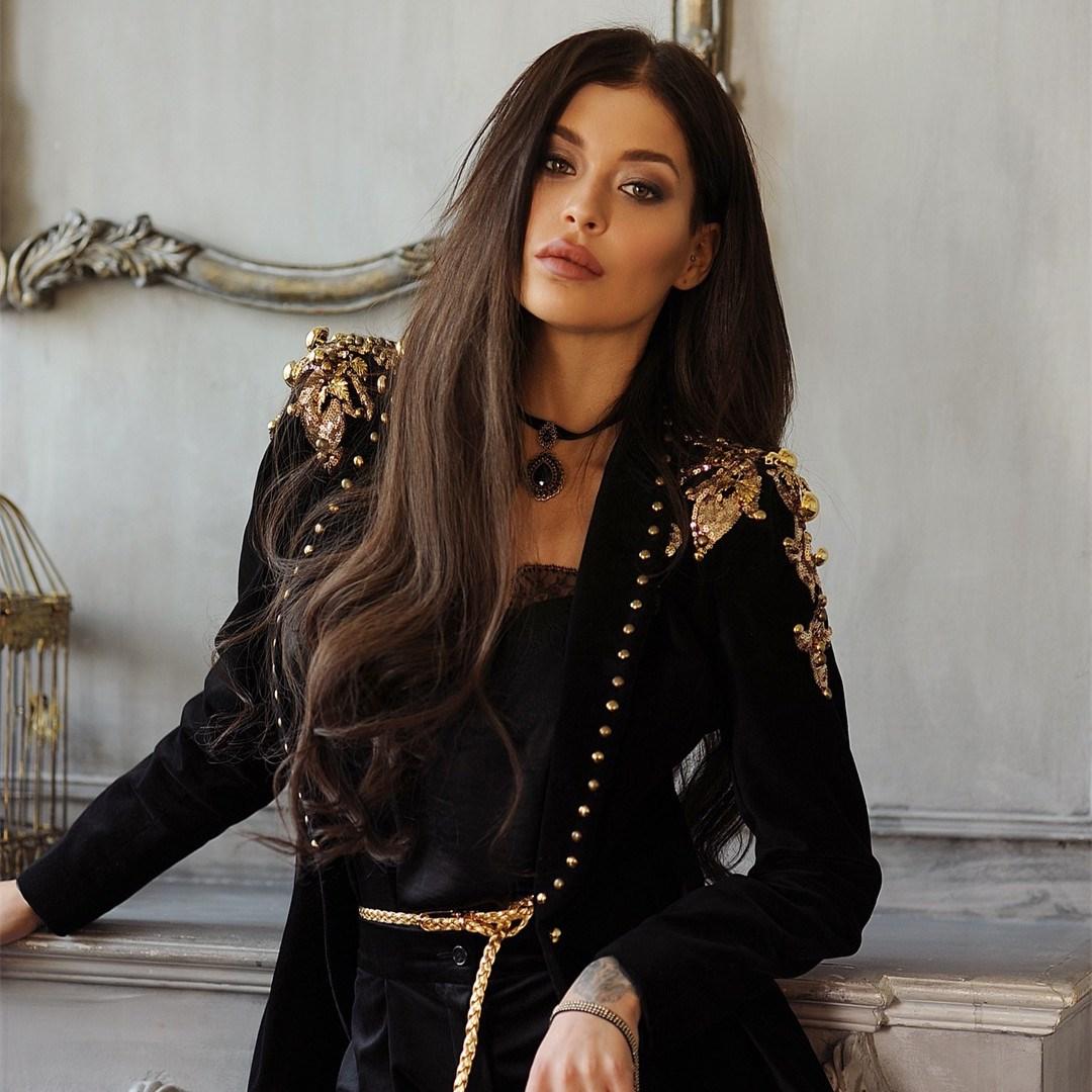Moulante De Bouton Point Célébrité Qualité Manteaux Ouvrir Manches Supérieure Femmes Longues Vestes Noir Mode À qw1Owg4