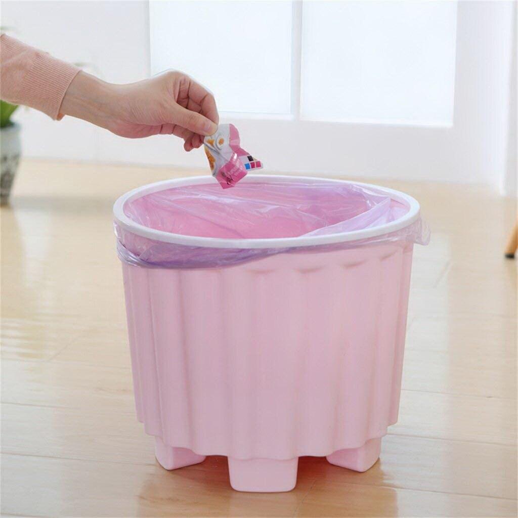Onverdroten Creatieve Indoor Milieu Prullenbak Plastic Kruk Vuilnis Mand Tafel Thuis Prullenbak Keuken Woonkamer Prullenbak Verkwikkende Bloedcirculatie En Stoppen Van Pijn