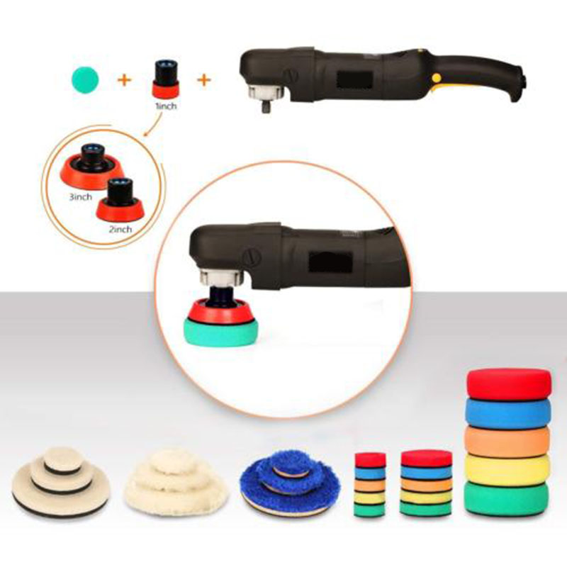 29 * Buffing Detailing Polishing Pad Kit Mix Size W/ M14 Thread For Rotary Tools29 * Buffing Detailing Polishing Pad Kit Mix Size W/ M14 Thread For Rotary Tools