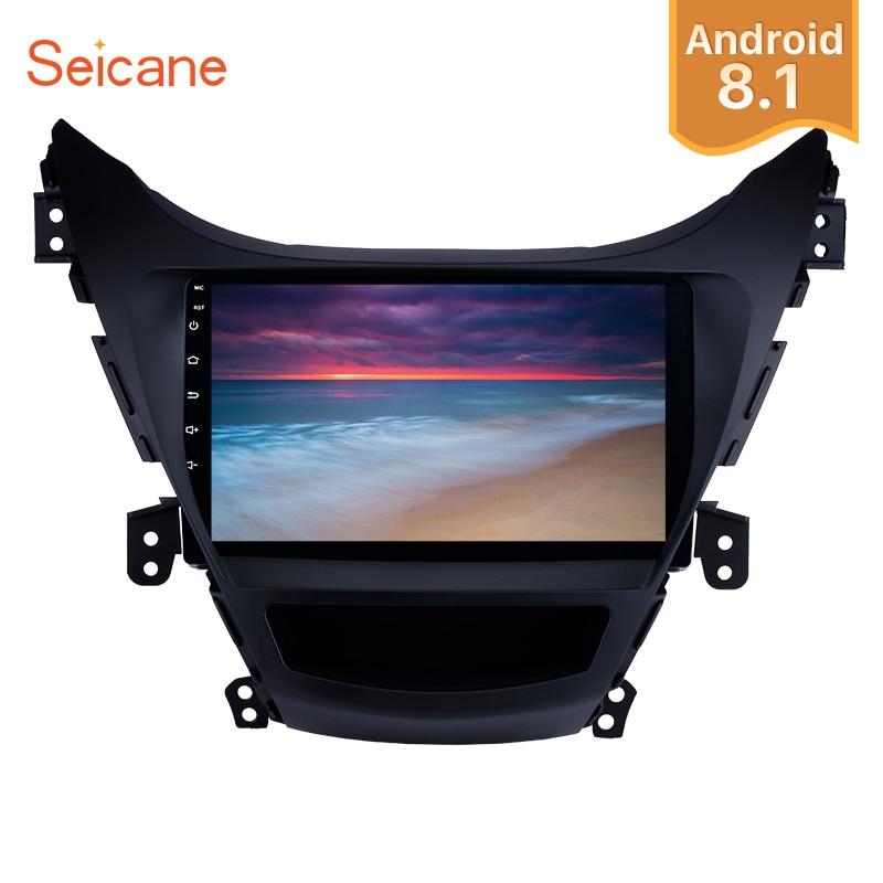 Seicane Android 8 1 9 2Din Car Radio GPS Multimedia Player For 2011 2012 2013 Hyundai