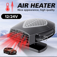 150W/280W 12V/24V Portable Car Truck Vehicle Electric Auto Heater Heating Fan Car Windshield Windows Dryer Defroster Demister