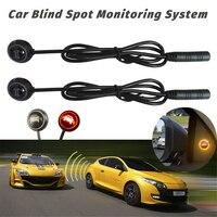 Universal BSM Car Blind Spot Monitoring System 58KHZ Ultrasonic sensor Driver Lane Changing Warning Assistance Device