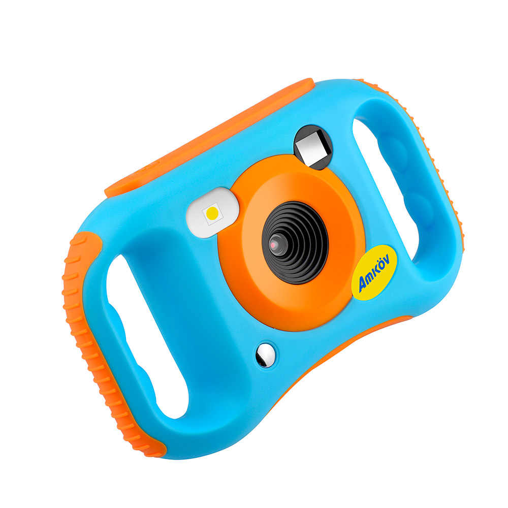 New Lithium Battery Mini Kid Cameras 1020P HD Projection Digital Camera Digital Portable Cute Neck Child