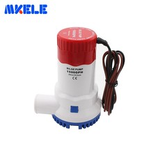 Marine Bilge Pump 12V 1500GPH DC Submersible Electric Booster Water For Boat Yacht Aquarium