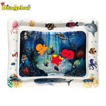 Детский водный игровой коврик, надувной детский животик, игровой коврик для малышей, Веселый игровой центр