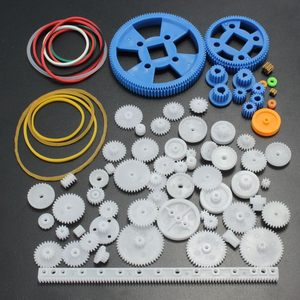 80Pcs Plastic DIY Car Robot Mo