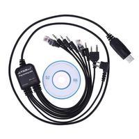 עבור baofeng Alloet 8 ב 1 USB תכנות כבל Baofeng עבור מוטורולה Kenwood TYT QYT מרובים רדיו 1.3M / 4.26 ft (3)