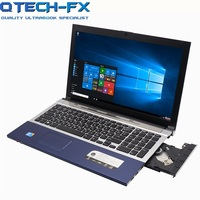 i7 Gaming Laptop 15.6 8GB RAM SSD 120GB 240GB 360GB DVD Fast CPU Metal FHD Business Student AZERTY Spanish Russian Keyboard