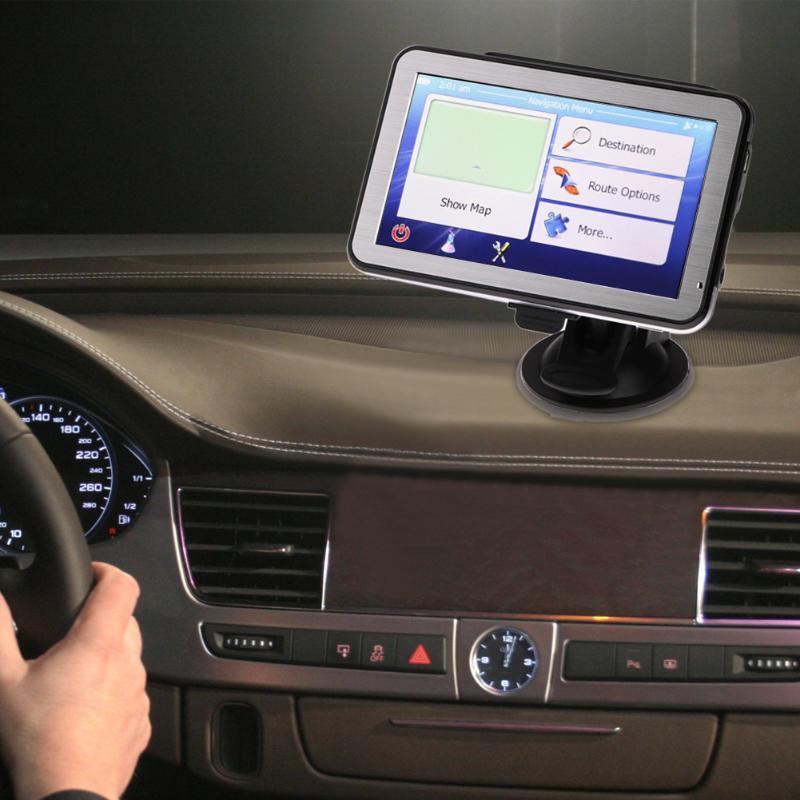5 Inch Touch Screen Car GPS Navigator FM Transmitter MP3/MP4 Players Mstar 800MHz 8GB Suppor Car GPS Navigator Vehicle GPS