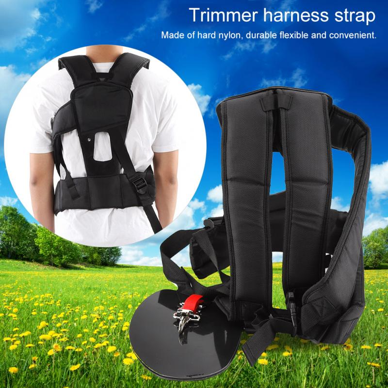 Universal Convenient Trimmer Double Breasted Shoulder Harness Strap Mower Nylon M-shaped Belt For Brush Cutter Garden  Suitable