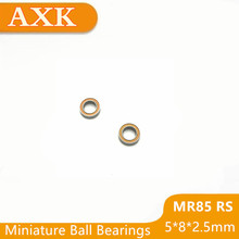 2019 Time-limited Orange Rubber Sealed Mr85rs 5*8*2.5 Bearing Abec-5 10pcs 5x8x2.5mm Miniature Mr85-2rs Ball Bearings Mr85 Rs