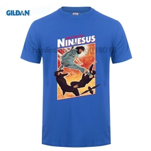 GILDAN Ninjesus t-shirt Fashion Fun Casual Mens T-shirt New