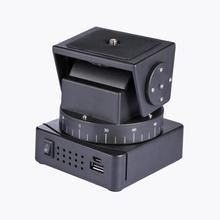 Cabeça do tripé de câmera rc YT 260 motorizada pan tilt com controle remoto para fotografia estúdio câmera para sony qx10 qx30 qx100 qx1l