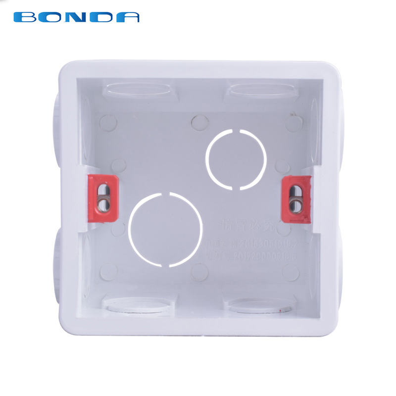 86-86mm-white-tape-universal-wall-mount-box-wall-switch-and-socket-box-plastic-housing-to-exit-86mm