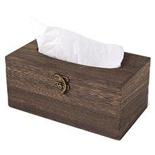 1 шт., полезная деревянная ретро коробка для салфеток, бумажный держатель для салфеток, чехол для домашнего декора автомобиля