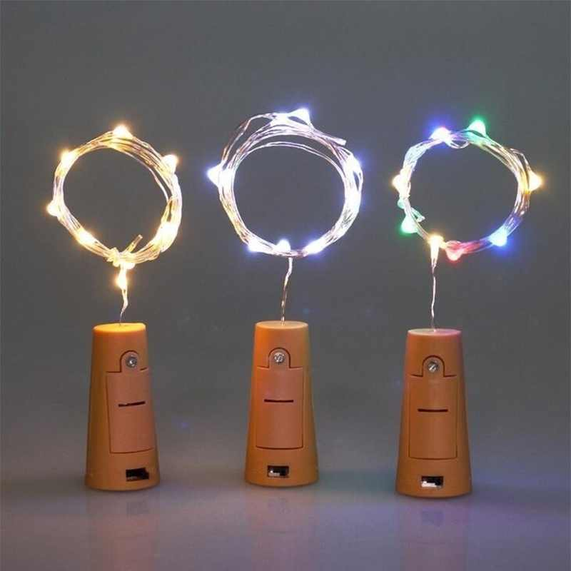Hoomall 9 цветов светодиодный инструмент для установки пробок в бутылки провод освещения струнная лампа для свадебной вечеринки декор 1 м/2 м/3 м пробка для вина для бутылки Бар Инструмент