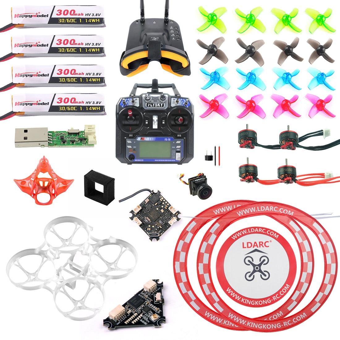 DIY Mobula 7 V3 FPV Drone Part Full Set with Transmitter Cra