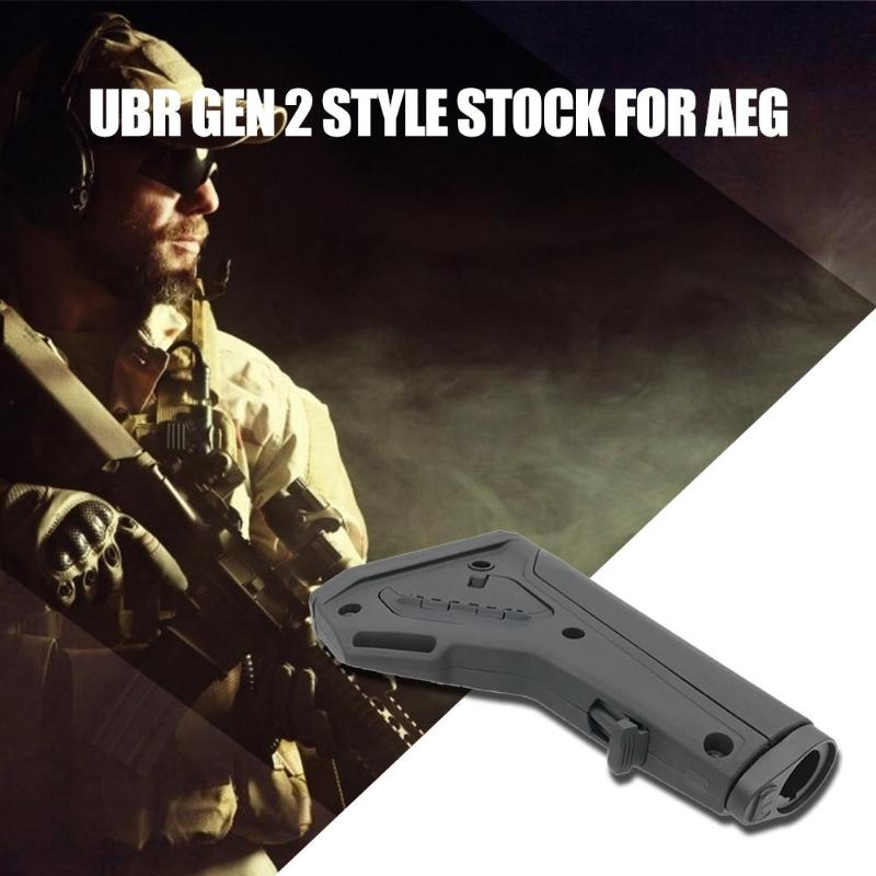 Shoulder Stock for 14mm Negative AEG Game Toy Modification Accessories Suitable for 14mm Negative AEG Black Color Hot SaleShoulder Stock for 14mm Negative AEG Game Toy Modification Accessories Suitable for 14mm Negative AEG Black Color Hot Sale