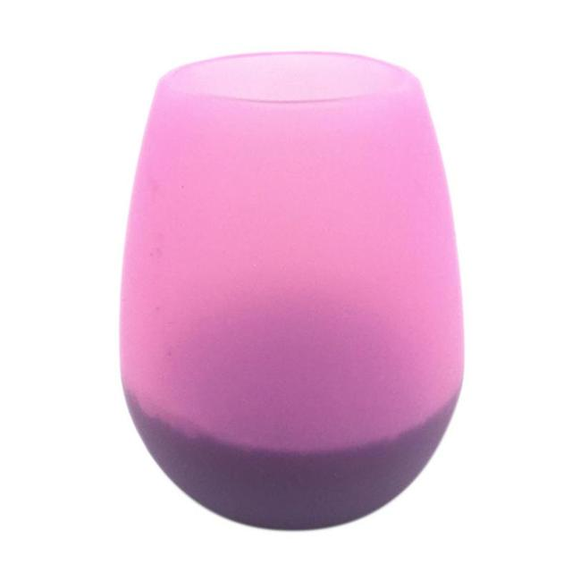 Silicone Red Wine Glass Portable Red Wine Bottle Eco-friendly Anti-fall Anti-skid Water Cup Folding Colorful Beer Container 3