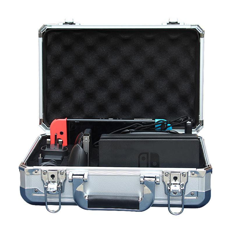 Pour interrupteur NS boîte de rangement coque rigide Protection paquet boîte de transport EVA étui commutateur mince voyage transporter jeu cartouches détenteurs