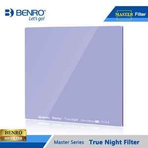 Image 4 - Benro 100*100mm 150*150mm Master True Night Filter Square Plug Filters Night Sky Photography Waterproof Optical Glass Free