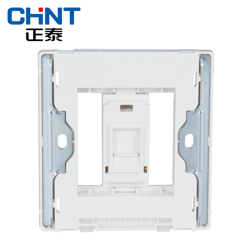 CHINT Electric Internet Socket Wall Switch Socket NEW2D Ivory White Panel Switch Computer Socket in Electrical Sockets from Home Improvement