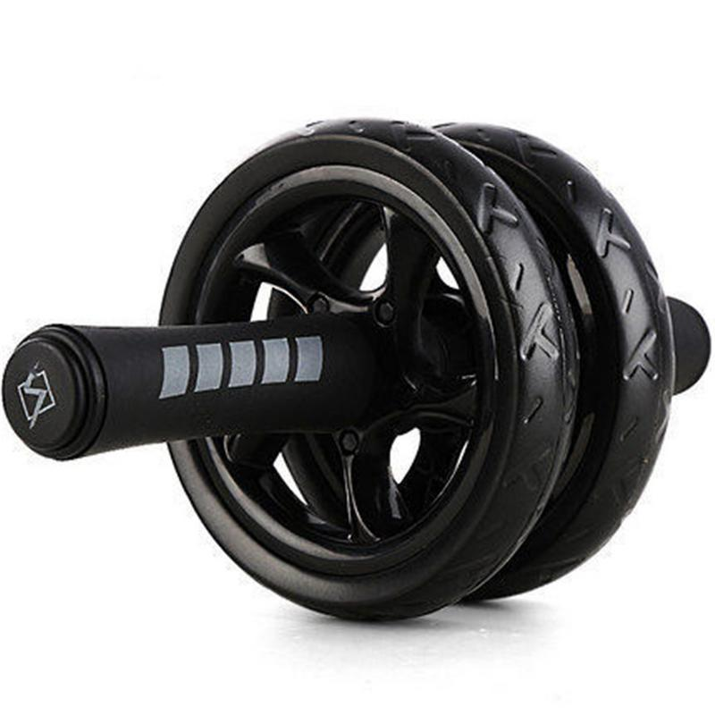 Sports Keep Fit Wheels No Noise Safe Abdominal Wheel Ab Roller Dual Wheel Fitness Abdominal Exerciser Equipment