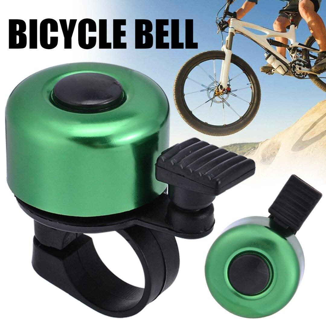 6 видов цветов, алюминиевый сплав, велосипедный руль для велосипеда, велосипедный звонок, детский скутер, мини-сигнализация для безопасност...