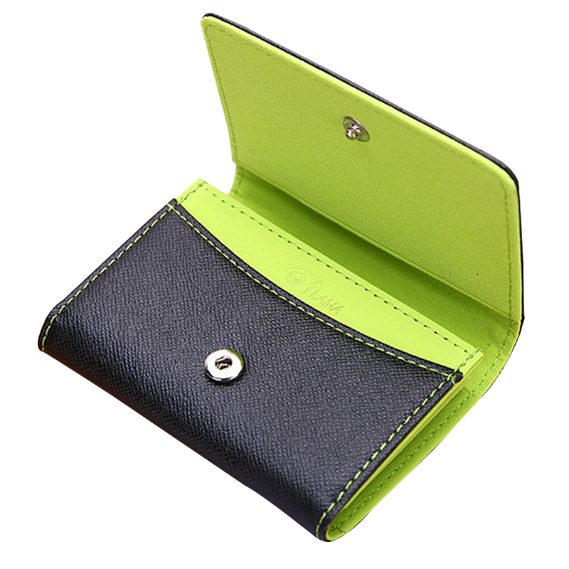 Fashion Hasp Small Wallet Women Men Ultrathin Mini Wallet Coin Purse Student Card Holder Kids