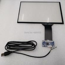 Емкостный сенсорный экран 10,1 дюймов USB plug and play Поддержка Android linux WIN7810 16:10G+ G