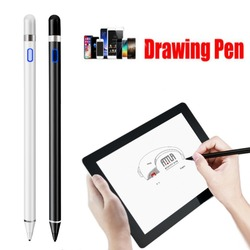 Rechargeable Capacitive Active Screen Stylus Pen Drawing Pen Fit For iPad Tablet