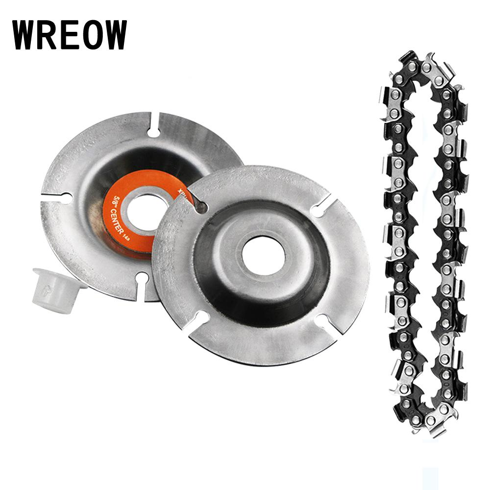 New 102 * 16mm Circular Saw Blades Chainsaw Chain Wood Carving Disc Woodworking Angle Grinders Universal For Wood Cutting Discs
