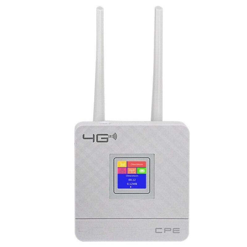 Cpe903 3G 4G Portable Hotspot Lte Wifi routeur Wan/Lan Port double antennes externes débloqué sans fil routeur Cpe + fente pour carte Sim