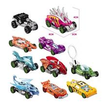 10 Piece Set Simulation Sliding Alloy Pull Back CarToys Racing Car Multi-color Model Small Sports Car Car Children's Toy Gift small fire cloud figure car stickers multi color 10 pair pack