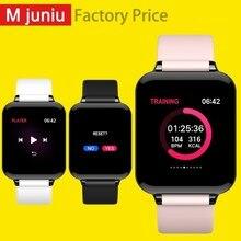 B57 Для женщин умные часы Водонепроницаемый спортивные для телефона Smartwatch монитор сердечного ритма крови Давление функции для малыша PK IWO часы