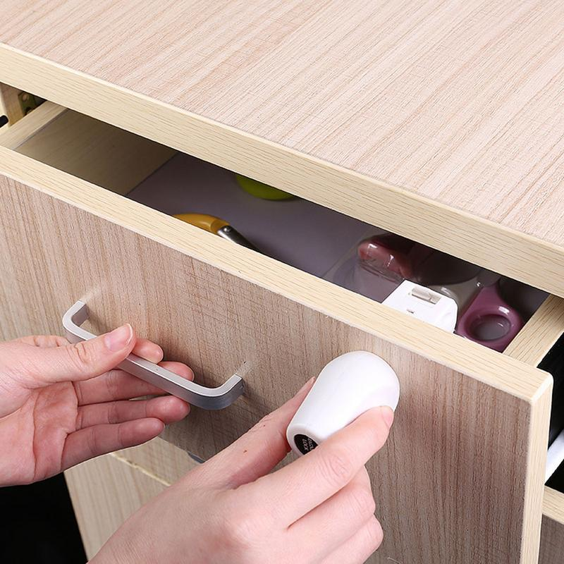 Innovative Multi-function Child Protection Magnetic Lock Baby Door Drawer Invisible Safety Protection Drawer Lock