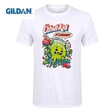 GILDAN Cthulhu Short T Shirt CTHUL-AID Men Sleeve T-Shirt Personalized Mens Wholesale